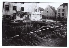 Amtsgericht - Baugrube um 1905