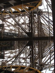 Eiffel Tower inner view