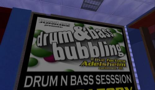 drum & bass LiveFactory Aldesheim