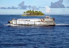Ebeye Ferry - Kwajalein (pls47) Tags: ocean ferry island boat pacific wwii lagoon historic southpacific kwajalein landingcraft atoll marshallislands ebeye kwaj ebyeferry littlebustardisland pls47 ebeyeferry