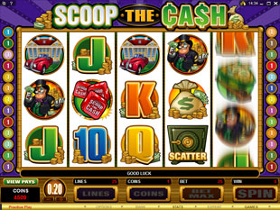 Scoop the Cash slot game online review