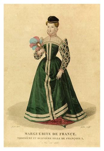 007-Margarita de Francia-Galerie Française de femmes célèbres 1827- Louis Marie Lanté