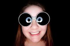 Day 193: The Birthday Girl (poopoorama) Tags: birthday party portrait woman sunglasses glasses rachel ringflash orbis project365 strobist 1020mmf456 nikond300