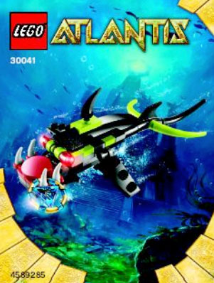 2010 LEGO Atlantis 30041 Piranha