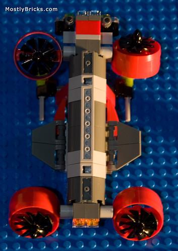 LEGO Atlantis MOC - Wreck Raider Quad