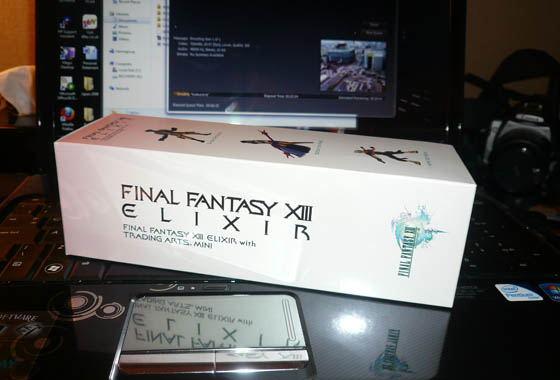 Final Fantasy XIII Elixir unboxing