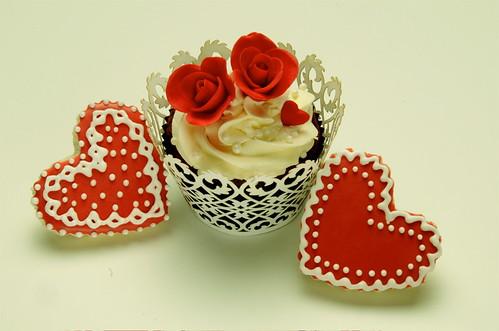 Valentine Cupcake & Cookies