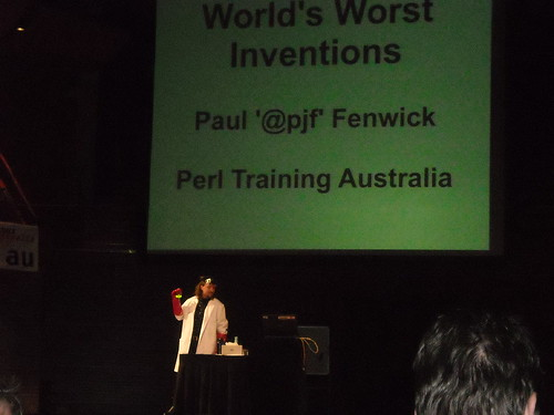 Paul Fenwick - the crazy scientist