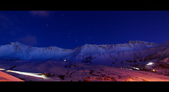 Saint-Franois Longchamp (Marcin Sowa) Tags: lighting light sky mountain snow cinema ski france 30 stars star nikon long exposure heaven skiing ambient nikkor cinematographer cinematic vr 30sec highiso longchamp d300 saintfranois 2391 18105mm