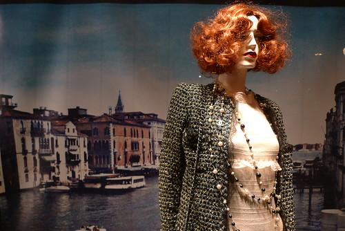 Vitrine Chanel Genève - Janvier 2010