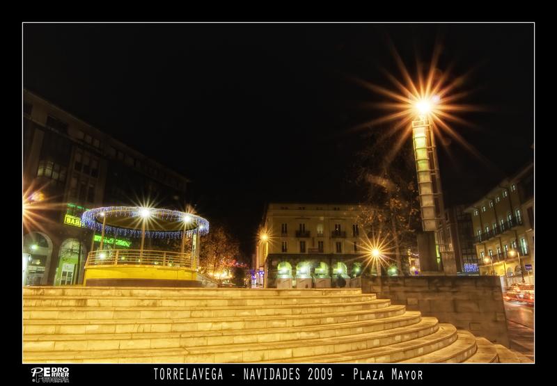 Torrelavega - Plaza Mayor - Navidades 2009