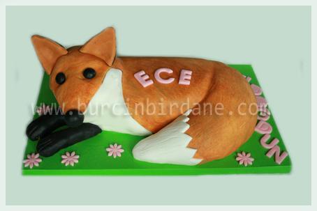 Fox Cake 1