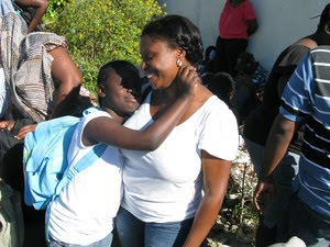 Haitian American Adoptive Parent Margalita Belhumer