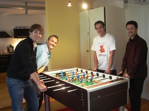 Fussballturnier beim finder.ch Team