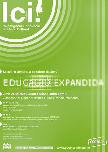 Educación Expandida, I+C+i en CCCB