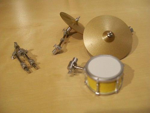 Parts to Ritsu's drums