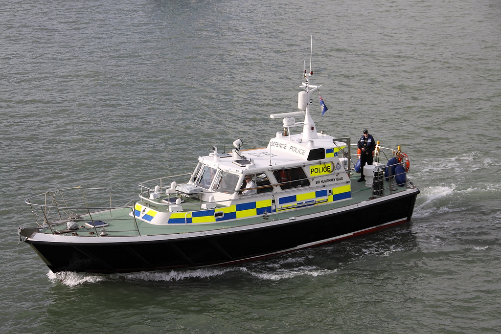 MOD POLICE LAUNCH SIR HUMPHREY GALE