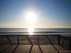 beach (Gustty) Tags: blue sunset pordosol sea praia beach portugal water gua azul mar sand areia gustavo cds ocaso costadacaparica almada gustty gustavoverssimo wwwflickrcomphotosgustty