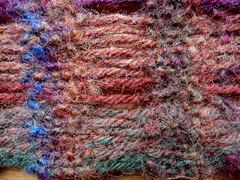 felting close-up