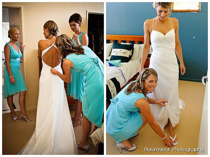Lea and Todd's Wedding - Bride Prep