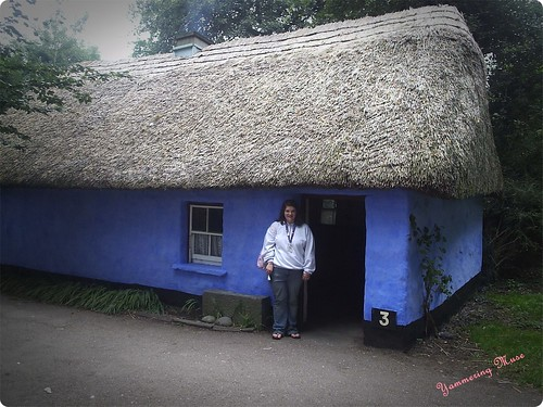 Blue House at Bunratty castle