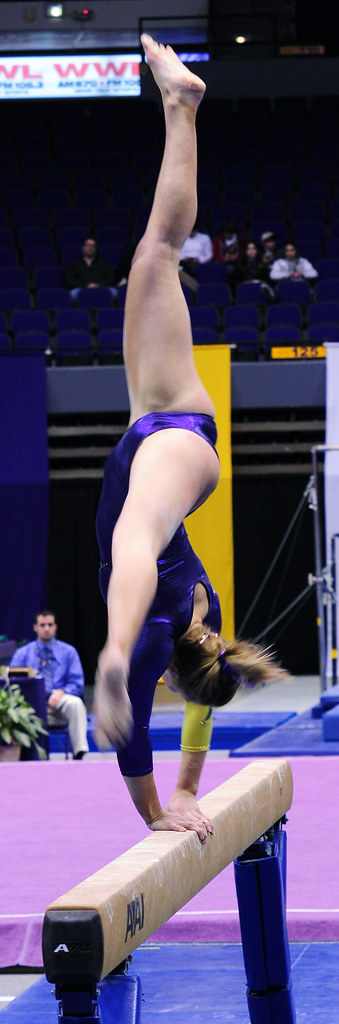 LSU Gymnastics Pics (Posted on 2/14/10 at 10:25 am)
