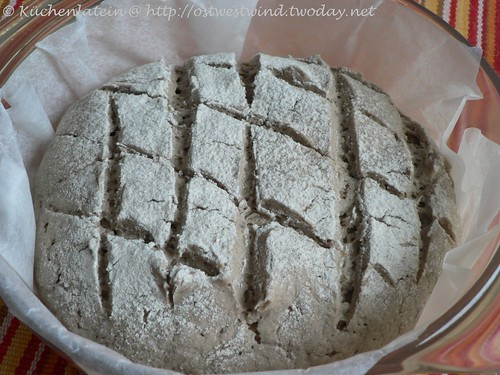 Dan Lepard's cider rye loaf recipe 001