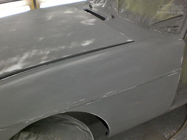 1967 MGB GT Repaint