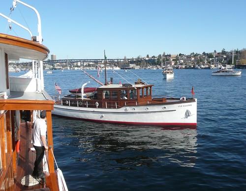 lake classic wooden yacht union motoryacht cya