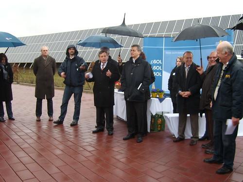 Peter Stephan spricht zu Erneuerbare Energien