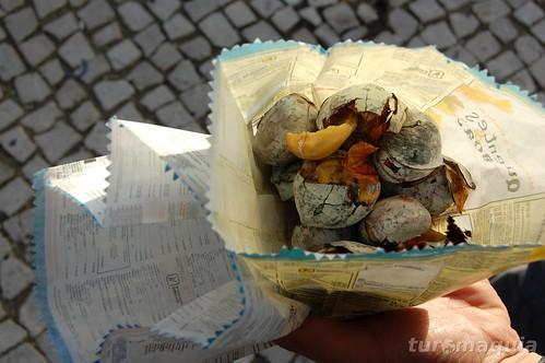 Castanhas portuguesas