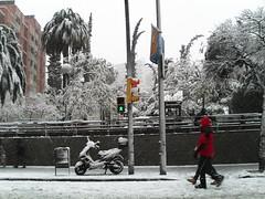 Esto es Barcelona? (2) (Adri Roig Ulayar) Tags: barcelona plaza nieve nevada blanca gran marzo gracia norte historica lesseps vallcarca nieva adria95tren2010