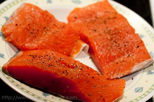 crispy herb crusted salmon 1
