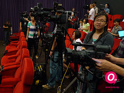 Lots of cameras on standby