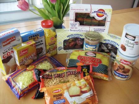 gluten-free passover foods