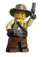 Lego 8683 Minifig Cowboy