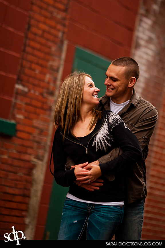 River Market Kansas City Engagement Photos
