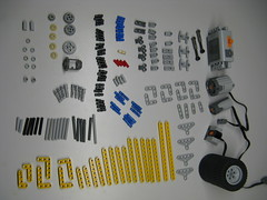 Required parts (mahjqa) Tags: car truck acc power lego competition technic chassis functions differential moc intermediate allround