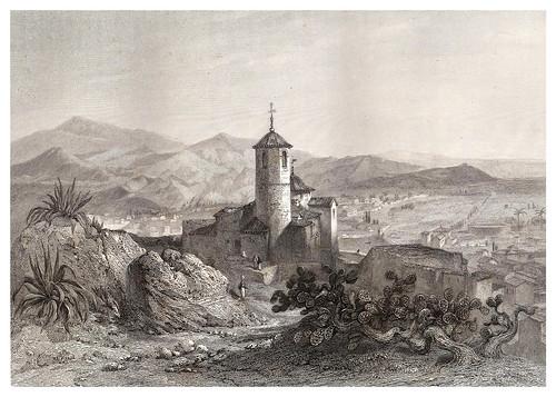 021-Lorca-Iglesia de San Juan-Voyage pittoresque en Espagne et en Portugal 1852- Emile Bégin