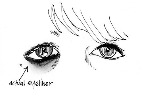 eyeliner debacle