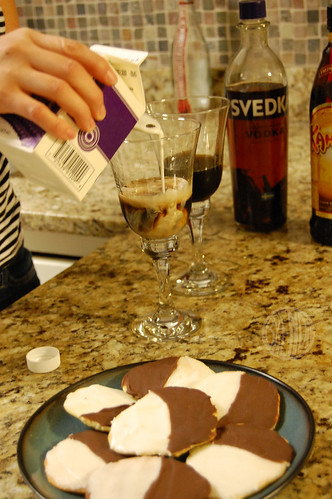 attempting to make a White Russian