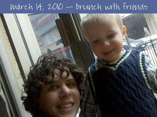 brunch with friends