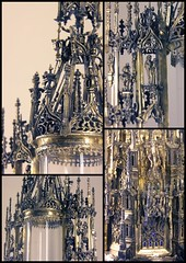 Reliquary-monstrance - detail collage -  Allemagne, early 16c
