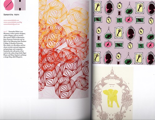 my spread in print and pattern book