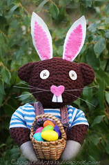 Heppy Easter! (Teddy7733) Tags: cute bunny easter outfit colorful teddy bright ears teddybear eggs colourful happyeaster teddy7733
