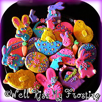 Easter Cookie Platter