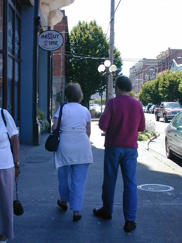 Walking the streets of Port Townsend