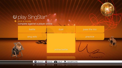 SingStar Online Battle