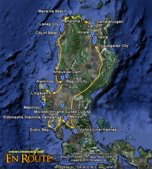 Lakbay Norte North Luzon Route
