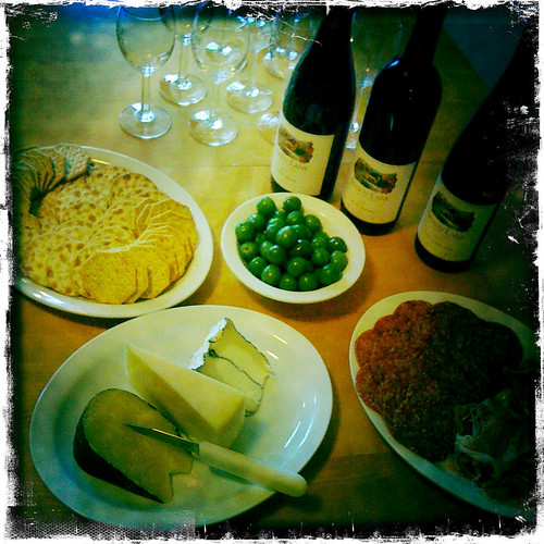 tweet and taste with shady lane cellars: the food!!